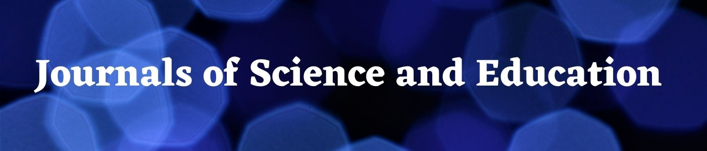 Journals of Science and Education